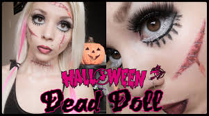 living dead doll makeup