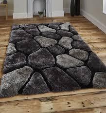noble house rugs black grey 5858