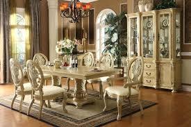 antique white kitchen table set antique white double pedestal dining table set t antique white pedestal