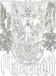 Maleficent S Evil Spell By Liakahi Coloriage Disney Pinterest