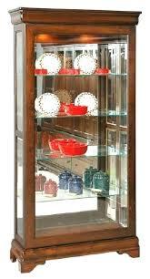 black china cabinet with glass doors sliding door curio antique corner for