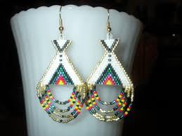great native american beaded earrings patterns free