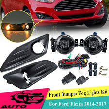 Ford Mondeo Fog Lights Switch Us 33 99 37 Off 1 Set 12v H8 Car Fog Light And Cover Grill Kit For Ford Fiesta 2013 2017 Front Bumper Fog Lamp Drl Driving Lamp Harness Switch In