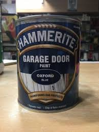 hammerite garage door oxford blue paint 750ml