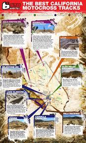 Glen Helen Raceway Seating Chart The Best California Motocross Tracks Infographic