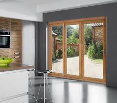 Double Glazed Kitchen Doors 6ft Folding Sliding External Patio Doors Dogtrot Hall Door Ideas