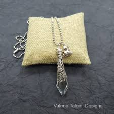 repurposed chandelier crystal necklaces
