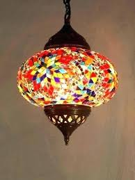 stained glass ceiling fan coloured lamp shades s light home depot