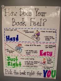 Just Right Book Chart