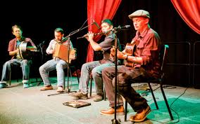 In the early to mid 20th century, traditional music was usually played in the home and at community gatherings called ceilidhs. Irish Traditional Music Esplanade