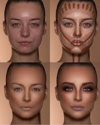 highlight contour hyp makeup samerkhouzami hypladhes hyppower light skin