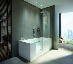 duravit shower bath in a modern bathroom