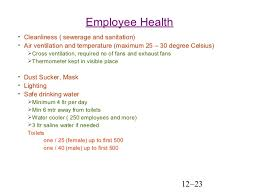 Employee Safty Employee Safety And Health