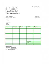 Blank Contractor Invoice Invoice Sample Uk Template Ideas Free Example Hsbcu Uk Sole Trader 6