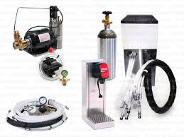 1 flavor tower soda fountain system with remote chiller