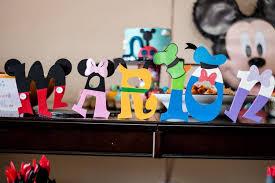 Mickey Mouse Clubhouse Themed Birthday Party via Karas Party Ideas KarasPartyIdeas11