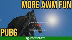MORE AWM FUN / PUBG Xbox One X - YouTube