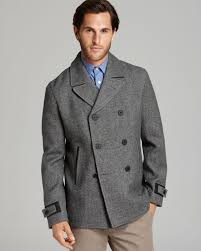gallery previously sold at bloomingdale s men s peacoats
