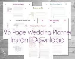 Wedding Planning Checklist Free Printable With Free Printable ...