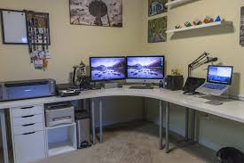 awesome office desk. Inspirational Office Space Setup Ideas - 6 Awesome Desk H