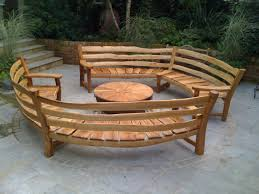 wooden curved outdoor bench curved outdoor bench furniture with curved garden furniture intended for your own home