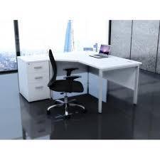 white corner desk modern