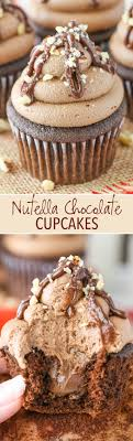 Nutella Topped Brownies Nutella Chocolate Cupcakes Life Love And Sugar
