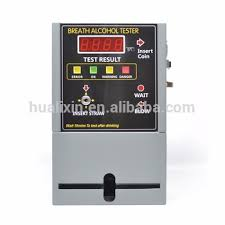 Breathalyzer Vending Machine Business Gorgeous Coin Operated Fuel Cell Sensor Breathalyzer Digital Breath Alcohol