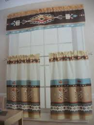 Western Kitchen Curtains