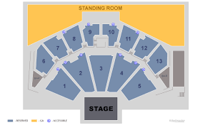 Row Seat Number Bmo Harris Pavilion Seating Chart Tickets Ajr The Neotheater World Tour Part 2