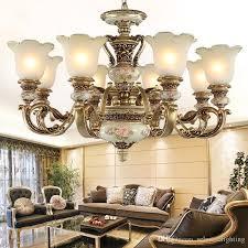 european lighting chandelier pendant lamp bedroom dining room living room lamp resin garden simple western style retro atmospheric lighting