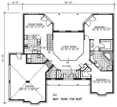 house plans with open floor plan. 2 Bedroom Open Concept House Plans Interesting Design Floor Plan . With