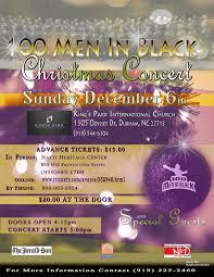 th christmas concert flyer men in black christmas flyer