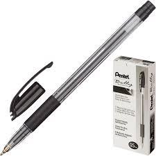 <b>Ручка шариковая PENTEL</b> Bolly BK425-A резин.манжет.,черный 0 ...