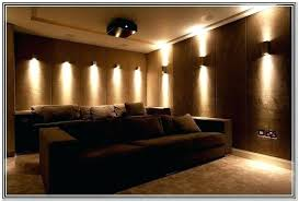 home theater lighting ideas. Media Room Lighting Ideas Home Theater Sconces Design Wall Best Gallery