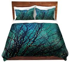 dianoche duvet covers twill magical night contemporary duvet covers and duvet