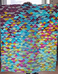 Likeflowersandbutterflies: Half square triangle quilt tutorial & WIP - HST quilt top Adamdwight.com