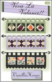 Grandma's Quilt Lined Patchwork Curtain Valance by Park Designs at ... & Home Dec patterns | Vanilla House Designs - Part 2 Stained glass or quilted  valance Adamdwight.com