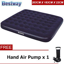 <b>BESTWAY 67004</b> (<b>203x183x22cm</b>) Inflatable Air Bed Mattresses ...