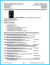 Coaching Resume Objective Examples Academy Football Coaching Resume Sales Coach Lewesmr Blank Coaches 20