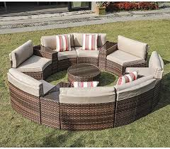 patio furniture covers beige cushions