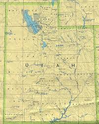 utah maps  perrycastañeda map collection  ut library online