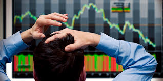 Image result for pictures of stock market panic