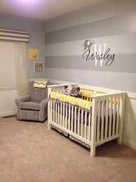 Wesley's Yellow and Gray Elephant Nursery