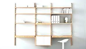 wall mounting shelves how to attach mounted shelving units shelf ikea