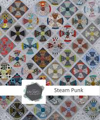 Steam Punk Quilt Pattern by Jen Kingwell Designs &  Adamdwight.com