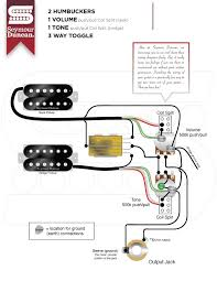 guitar wiring diagram 2 humbucker guitar image wiring diagram 2 humbuckers volume tone 3 way switch wiring diagram on guitar wiring diagram 2