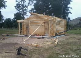 Small Picture Why Log Cabin Kits Are Not Prefab Cowboy Log Homes