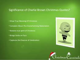 Charlie Brown Christmas Quotes Amazing Charlie Brown Christmas Quotes