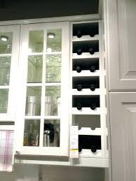 wine rack cabinet above fridge. Kitchen Cabinet Wine Rack Above Fridge